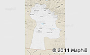 Classic Style Map of Bayanhongor