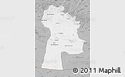 Gray Map of Bayanhongor