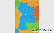 Political Map of Bayanhongor