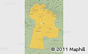 Savanna Style Map of Bayanhongor