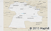 Classic Style Panoramic Map of Bayanhongor