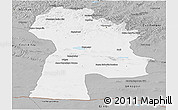 Gray Panoramic Map of Bayanhongor