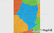 Political Map of Bulgan