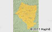 Savanna Style Map of Bulgan