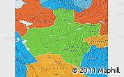 Political Map of Dzavhan