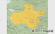 Savanna Style Map of Dzavhan