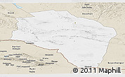 Classic Style Panoramic Map of Govi-Altay