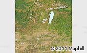Satellite Map of Hovsgol