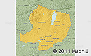Savanna Style Map of Hovsgol