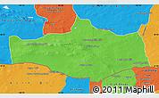 Political Map of Omnogovi