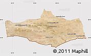 Satellite Map of Omnogovi, cropped outside