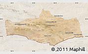 Satellite Map of Omnogovi, lighten