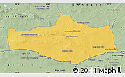 Savanna Style Map of Omnogovi