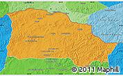 Political Map of Selenge