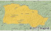 Savanna Style Map of Selenge