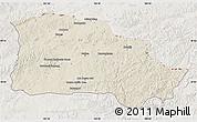 Shaded Relief Map of Selenge, lighten