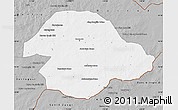 Gray Map of Suhbaatar