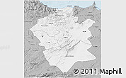 Gray 3D Map of Centre Nord