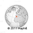 Outline Map of Al Hoceima