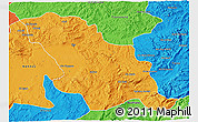 Political 3D Map of Fes