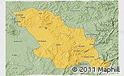 Savanna Style 3D Map of Fes