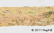 Satellite Panoramic Map of Fes