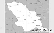 Gray Simple Map of Fes