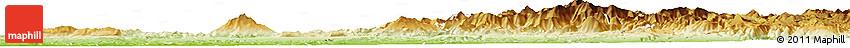 Physical Horizon Map of Taounate