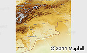 Physical 3D Map of Errachidia