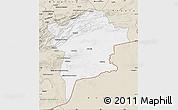 Classic Style Map of Errachidia