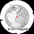 Outline Map of Khenifra