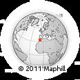 Outline Map of Ain Sebaa/Hay M.