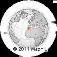 Outline Map of Ben-Msick/Othman