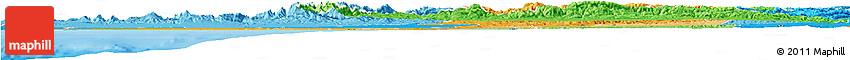 Political Shades Horizon Map of Centre