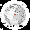 Outline Map of Khouribga