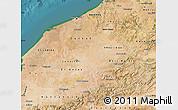 Satellite Map of Centre