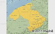 Savanna Style Map of Centre