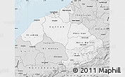 Silver Style Map of Centre