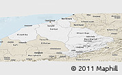 Classic Style Panoramic Map of Centre