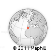 Outline Map of Sidi Bern./Moham.-Znata