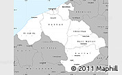 Gray Simple Map of Centre