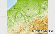 Physical 3D Map of Khemisset
