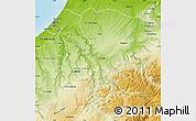 Physical Map of Khemisset