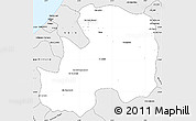 Silver Style Simple Map of Khemisset