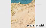 Satellite 3D Map of Oriental