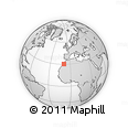 Outline Map of Agadir
