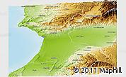 Physical Panoramic Map of Agadir
