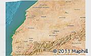 Satellite 3D Map of Tensift