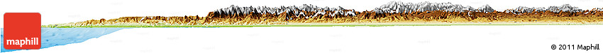 Physical Horizon Map of Tensift