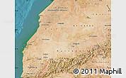 Satellite Map of Tensift